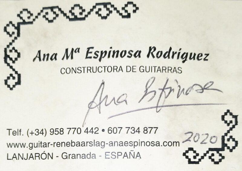 Ana Espinosa – 2020