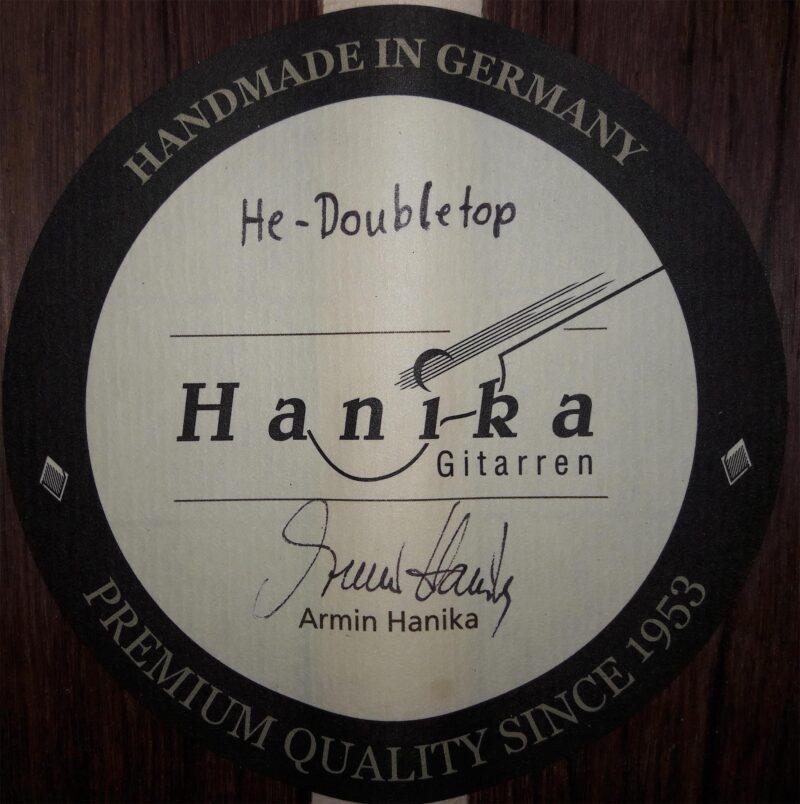 Armin Hanika – HE Doubletop