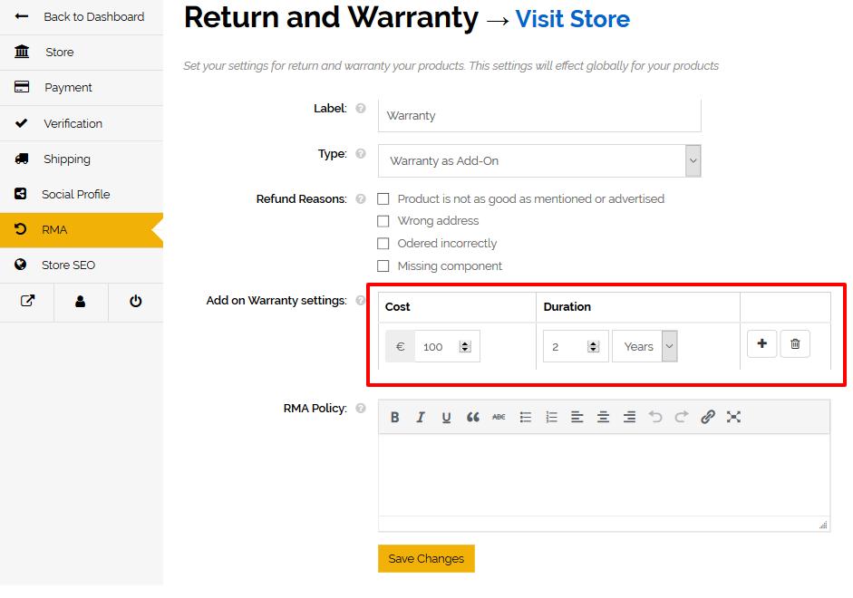 Dashboard Vendor – OhGuitar.com15