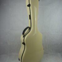 Dreadnought Gitarrenkoffer - Singing Dragon - GFK Koffer für Akustikgitarre (elfenbein)