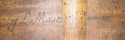 Baroque guitar by J. L. Mast - c.1780
