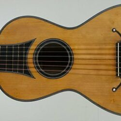 Petit Jean romantic guitar - c. 1825