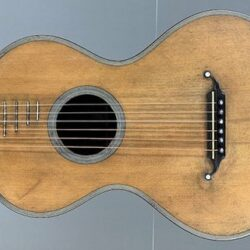 René Lacôte Romantic Guitar - 1830 Paris