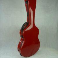 Gitarrenkoffer - Singing Dragon - GFK Koffer für Konzertgitarre (rot)