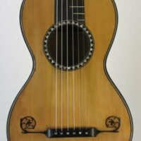 Guitar made in Paris - c. 1800