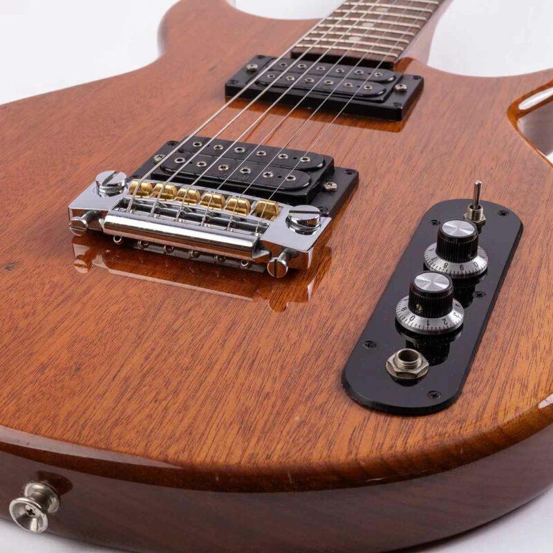 Höfner S2 solid Mahagoni Gitarre - 1984