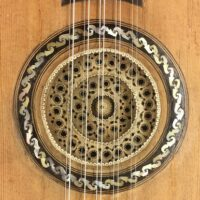 "Italian ""battente"" guitar made by Gateano Vinaccia, Naples - 1829"