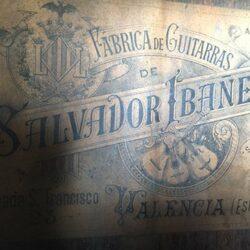 Salvador Ibanez, Valence c.1900.
