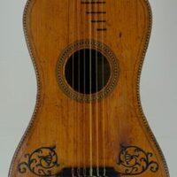 « Spanish guitar », Preston and Longmann & Broderip style, made in London - c.1800