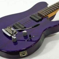Music Man Axis Sport - transparent purple 1997