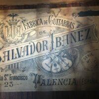 SALVADOR IBANEZ c. 1890