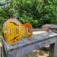 B&G Guitars Little Sister Private Build Bj. 2017 #476 Honey Burst