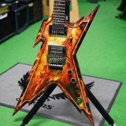 Dean Guitars Dimebag Razorback Explosion, incl. Case