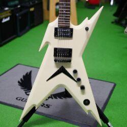 Dean Guitars Razorback DB, White incl. Softcase