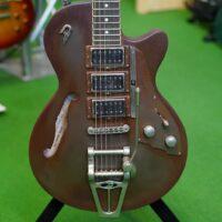 Duesenberg Custom Shop Starplayer Custom Rusty Steel, incl. Custom Case