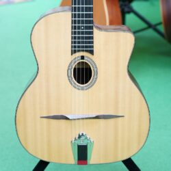 Eastman DM-1, Selmer-Style Gypsy-Jazz-Guitar, natural