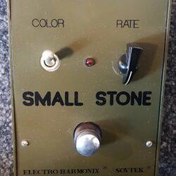 Electro-Harmonix Small Stone Matt/Grün