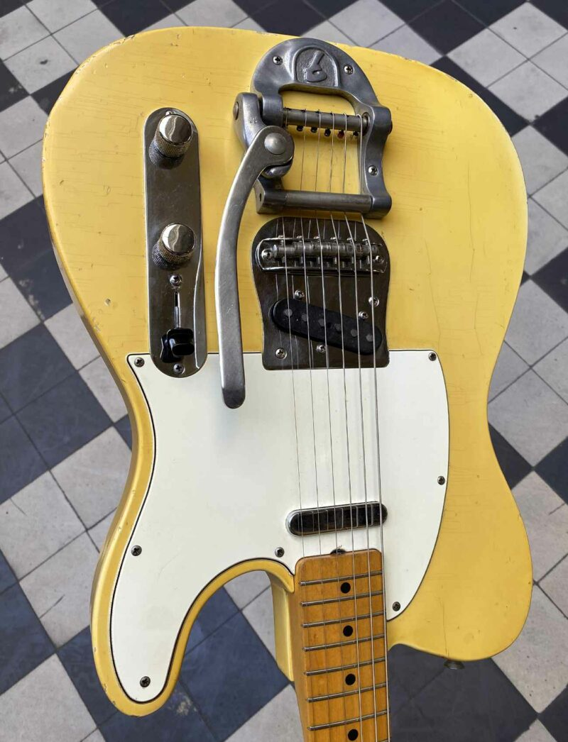 FENDER TELECASTER FACTORY BIGSBY - 1966