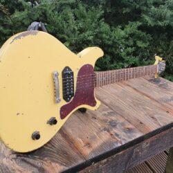 Gamble Guitars Miss G Junior TV Yellow aged
