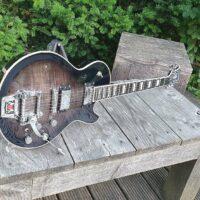 HAGSTROM E-Gitarre, Tremar Super Swede, Cosmic Blackburst