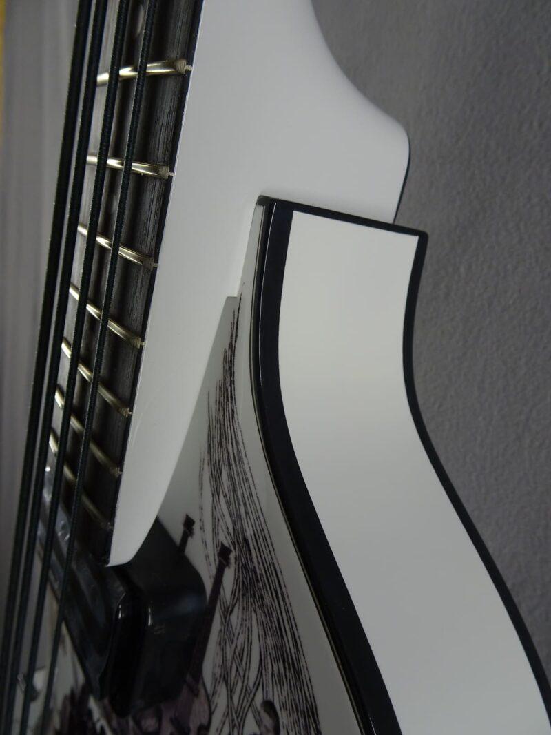 Hofner 60th Anniversary Violin Bass(Klaus Voormann) 2016 Weiß/Graphik