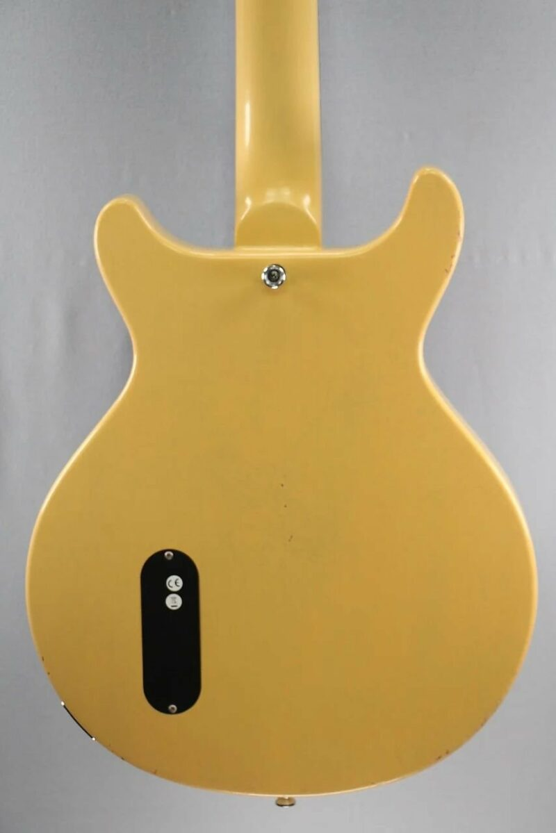 Maybach Lester Jr. '59 Double Cut TV Yellow Aged