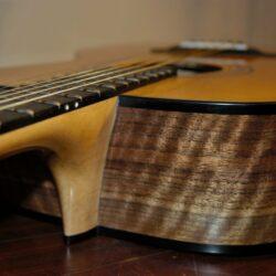 MRom - Walnut Acoustic Guitar