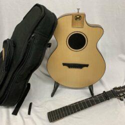 """Nylon String Guitar / """"Reisegitarre"""" von Lukas Brunner, Graubünden (CH)"""