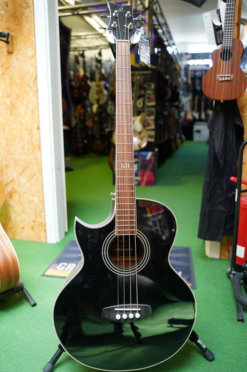 Ortega D1-4-BKLE, Lefthand Elektro-Acoustic Bass, black