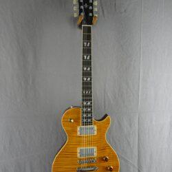 Schecter USA Custom Shop Solo-II Classic Trans Amber