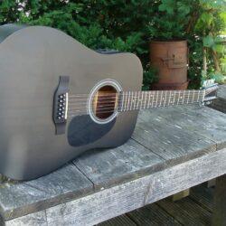 Sigma Guitars DM12E-BKB+ Westerngitarre