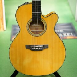 Takamine Custom Wide Neck, CNC-WS2, electroacoustic- NEX/C, incl. Case