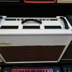 "Vox AC30C2-White Bronco Ltd.ED, Custom 2-Channel 30-Watt 2x12"" - New Old Stock -"