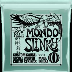Ernie Ball 2211 Mondo Slinky 10,5-52 Nickel plated Steel Set of strings