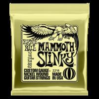 Ernie Ball 2214 Mammoth Slinky 12-62 Nickel plated Steel Set of strings