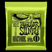 Ernie Ball 2221 Regular Slinky 10-46 Nickel plated Steel Set of strings