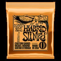 Ernie Ball 2222 Hybrid Slinky 09-46 Nickel plated Steel Set of strings
