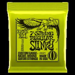 Ernie Ball 2621 7-String Regular Slinky 10-56 Nickel plated Steel Set of strings