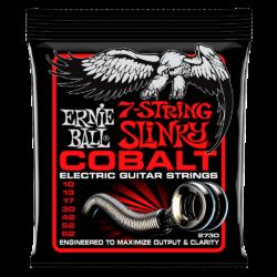Ernie Ball 2730 Cobalt 7-String Skinny Top Heavy Bottom 10-62 Cobalt Wound Set of strings