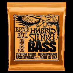 Ernie Ball 2833 Hybrid Slinky Bass 45-105 Nickel plated Steel Set of strings