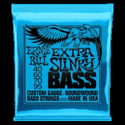 Ernie Ball 2835 Extra Slinky Bass 40-95 Nickel plated Steel Set of strings
