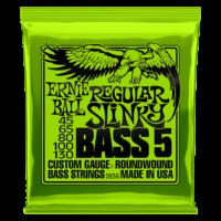Ernie Ball 2836 Regular Slinky Bass 5 45-130 Nickel plated Steel Set of strings
