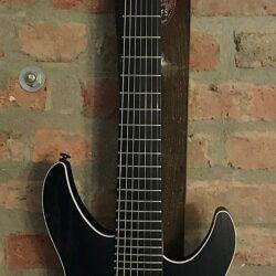 FGN J-Standard Mythic 7 OPB Open Pore Black Electric Guitar