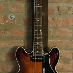 FGN Masterfield P90 Antique Sunburst Hollowbody Electric Guitar