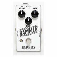 Greer Hammer Distortion Fuzz Effectpedal