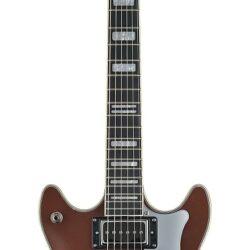 Hagstrom Alvar Ltd 2020 Derby Brown Metallic E-Gitarre