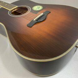 Ibanez AVD10E BVS Artwood Vintage Thermo Aged Westerngitarre Tonabnehmer