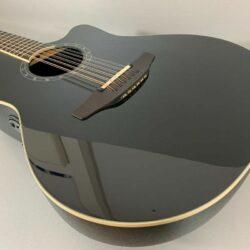 Ovation Standard Balladeer 2751 - 5 Black Deep Contour 12 Saiter Westerngitarre