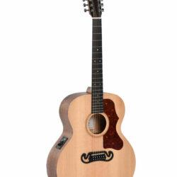 Sigma SE Series GJM12E Natural Grand Jumbo 12 Saiter Akustik Gitarre