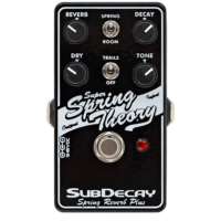 Subdecay Super Spring Theory Analog Reverb Effectpedal